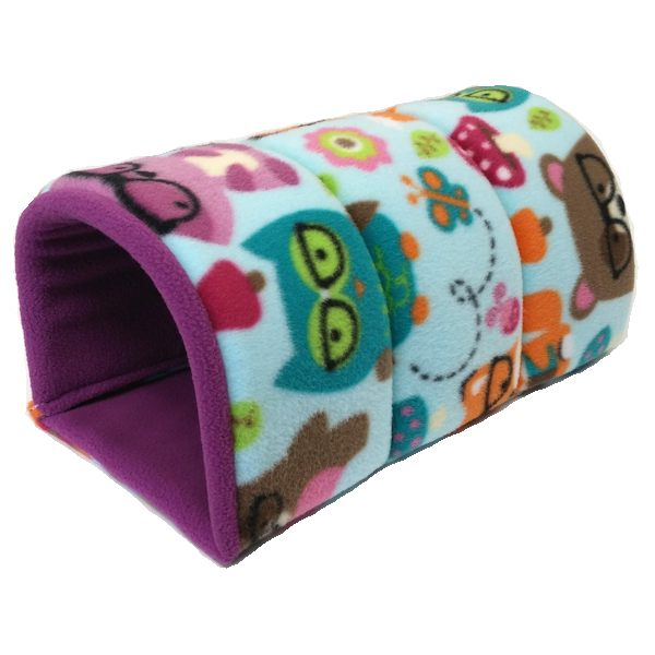 Cozy Tunnel Piggybedspreads Com Fleece Cage Bedding