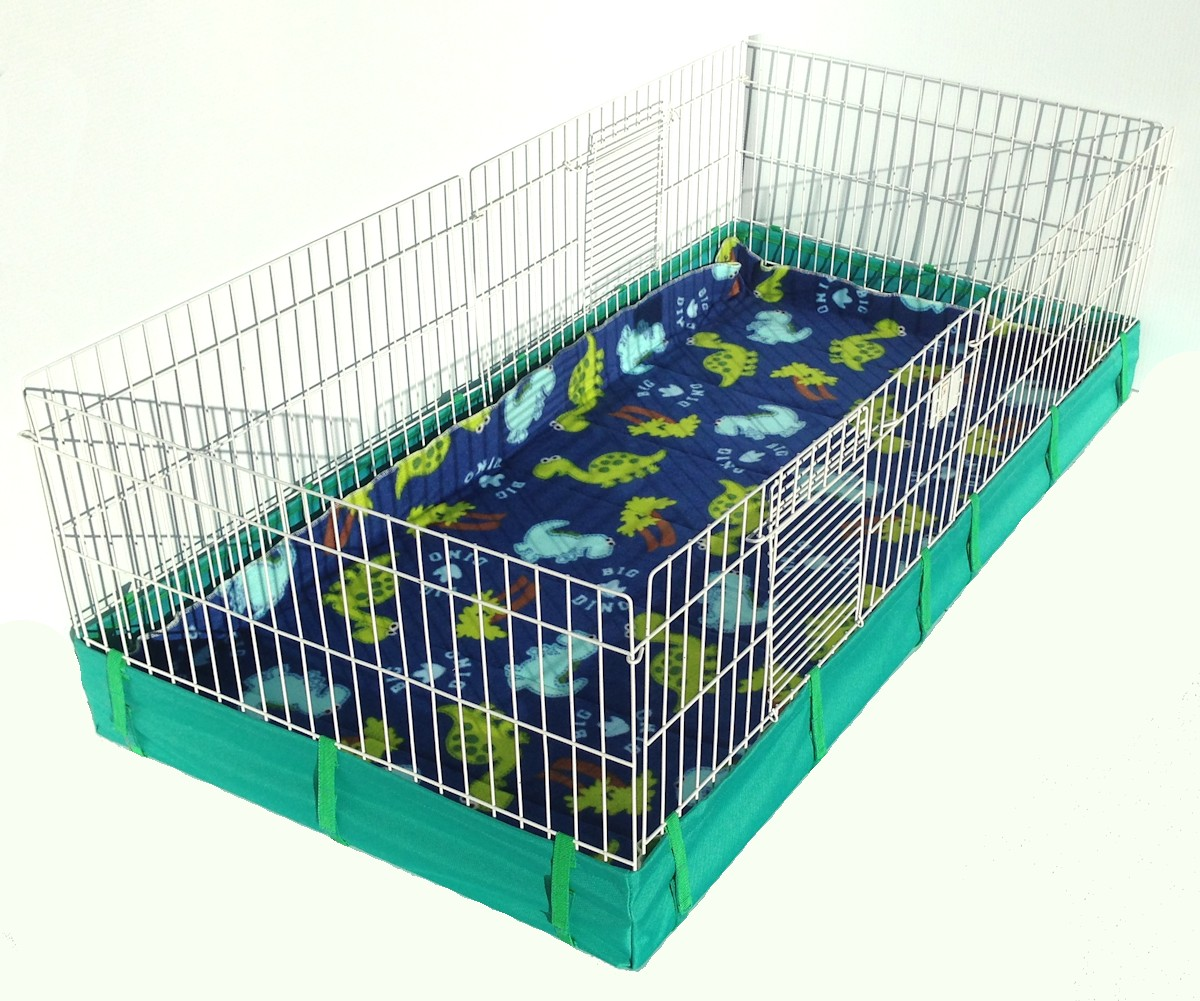 Mid west piggy liner fleece cage for Coroplast guinea pig cage for sale