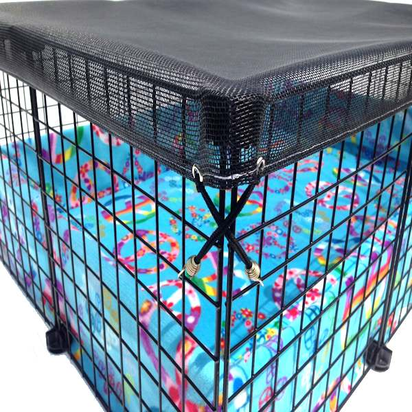 Safe pet c c cage fleece cage for How to guinea pig cage