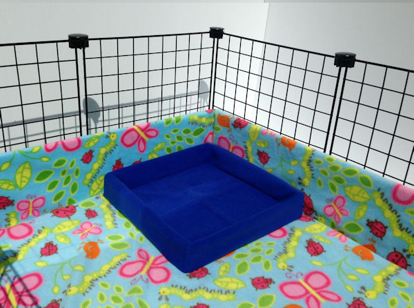 Litter Box System Piggybedspreads Com Fleece Cage