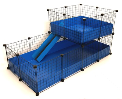 Fleece cage bedding liners for for Coroplast guinea pig cage for sale
