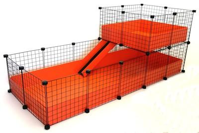 C c cage fleece cage bedding for Diy c c guinea pig cage